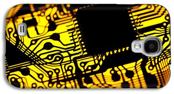Component Galaxy S4 Cases - Printed Circuit Board, Artwork Galaxy S4 Case by Pasieka