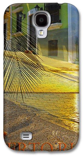 Puerto Rico Galaxy S4 Cases - Puerto Rico Collage 3 Galaxy S4 Case by Stephen Anderson