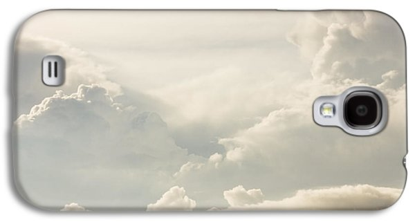 Abstract Forms Photographs Galaxy S4 Cases - Puffy Clouds Thunder Heads Building Before Storm Photo Poster Prints Galaxy S4 Case by Keith Webber Jr