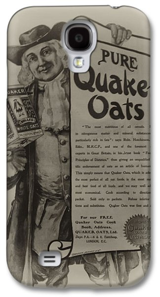 Pure Quaker Oates Galaxy S4 Case by Bill Cannon