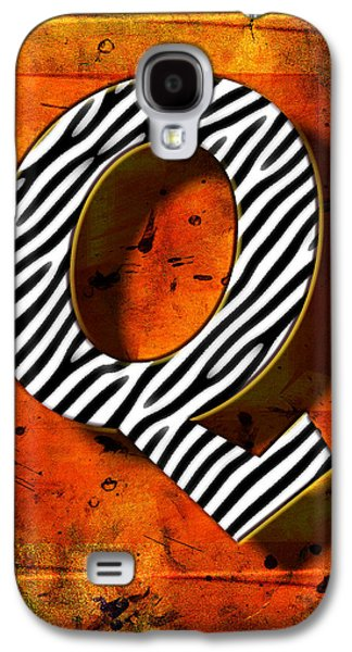 Computer Pyrography Galaxy S4 Cases - Q Galaxy S4 Case by Mauro Celotti