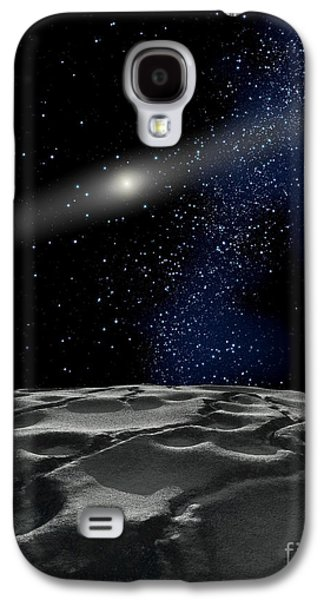 Planetoid Galaxy S4 Cases - Quaoar Is A Large Kuiper Belt Object Galaxy S4 Case by Ron Miller