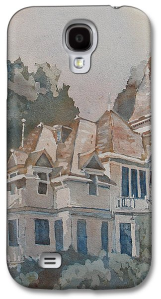 Eerie Galaxy S4 Cases - Queen Anne Nods to Shirley Jackson Galaxy S4 Case by Jenny Armitage