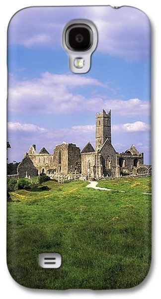Monasticism Galaxy S4 Cases - Quin Abbey, Quin, Co Clare, Ireland Galaxy S4 Case by The Irish Image Collection