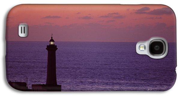 Rabat Photographs Galaxy S4 Cases - Rabat Morocco Lighthouse Galaxy S4 Case by Antonio Martinho