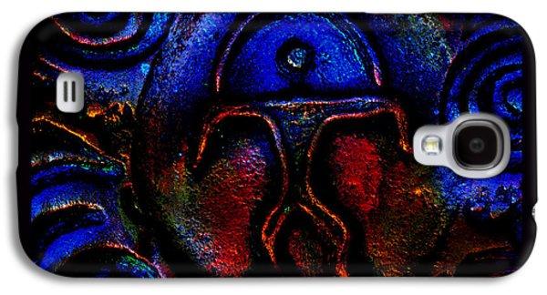 Ancient Ceramics Galaxy S4 Cases - Rainbow Man Galaxy S4 Case by Susanne Still