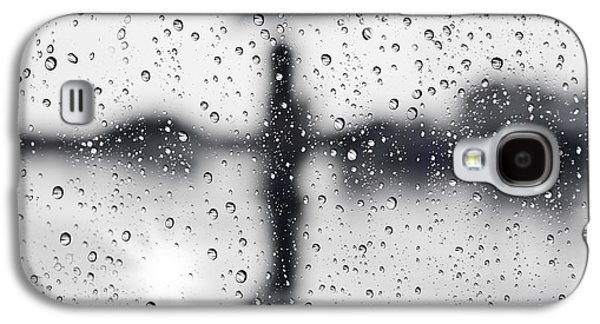 Glass Reflections Galaxy S4 Cases - Rainy day Galaxy S4 Case by Setsiri Silapasuwanchai