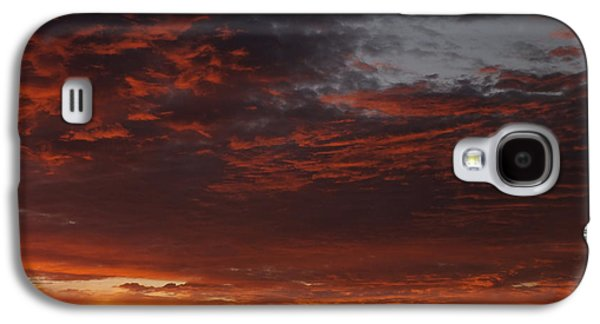 Sunsets Digital Art Galaxy S4 Cases - Reach for the Sky 12 Galaxy S4 Case by Mike McGlothlen