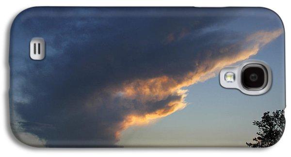 Sky Digital Art Galaxy S4 Cases - Reach for the Sky 25 Galaxy S4 Case by Mike McGlothlen