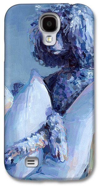 Pet Portrait Galaxy S4 Cases - Ready For Her Closeup Galaxy S4 Case by Kimberly Santini