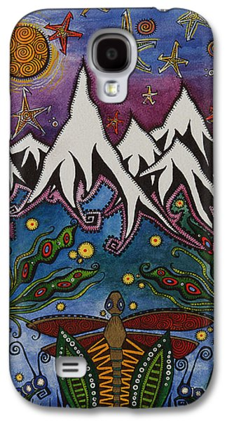 Landscape With Mountains Galaxy S4 Cases - Realistic Imagination Galaxy S4 Case by Tanielle Childers