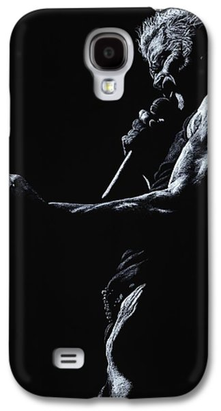 Music Pastels Galaxy S4 Cases - Rebel Yell 1 Galaxy S4 Case by Richard Young