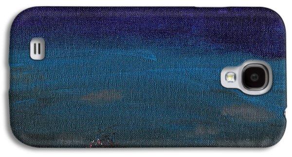 Red Cyclops Range Galaxy S4 Case by Jera Sky
