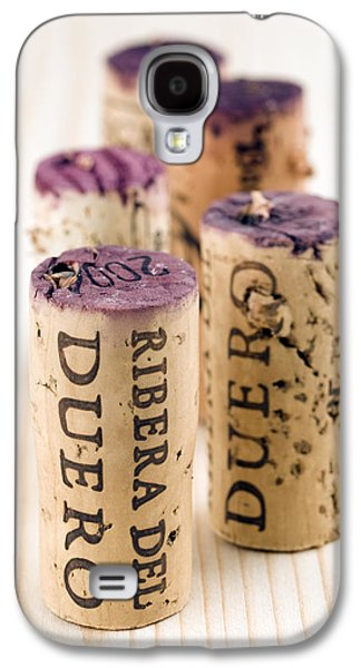 Vino Photographs Galaxy S4 Cases - Red wine corks from Ribera del Duero Galaxy S4 Case by Frank Tschakert