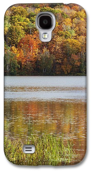 Design Pics - Galaxy S4 Cases - Reflection Of Autumn Colors In A Lake Galaxy S4 Case by Susan Dykstra
