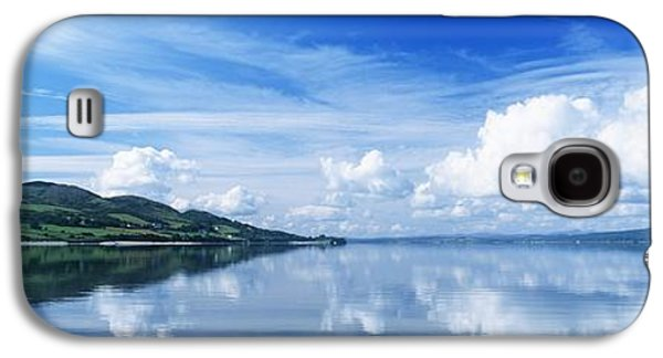 Reflections Of Sky In Water Galaxy S4 Cases - Reflection Of Clouds In Water, Lough Galaxy S4 Case by The Irish Image Collection