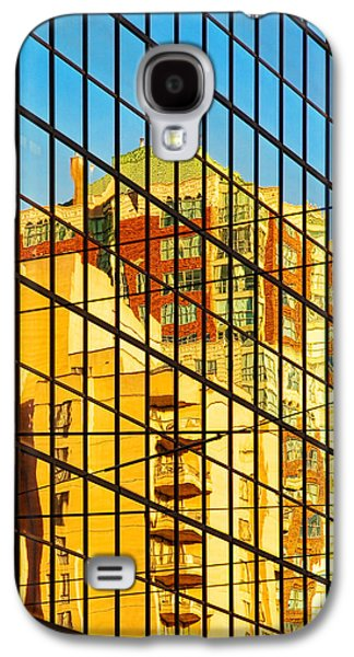 Abstract Digital Pyrography Galaxy S4 Cases - Reflections 1 Galaxy S4 Case by Mauro Celotti