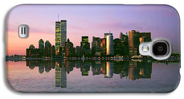 Twin Towers Nyc Galaxy S4 Cases - Reflections Galaxy S4 Case by Joann Vitali