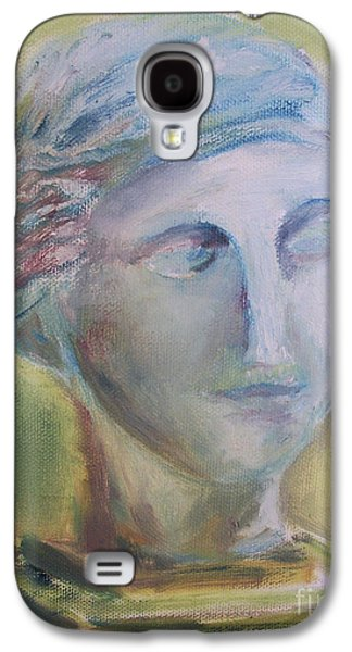 Bust Sculptures Galaxy S4 Cases - Remains of the Past Galaxy S4 Case by Paul Galante