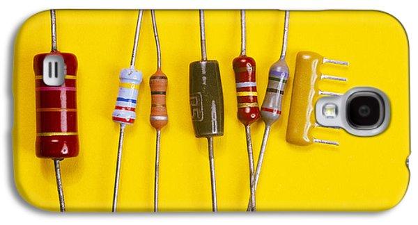 Resistor Photographs Galaxy S4 Cases - Resistors Galaxy S4 Case by Andrew Lambert Photography