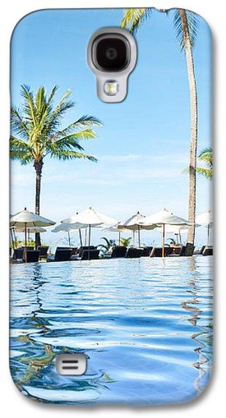 Aqua Condominiums Galaxy S4 Cases - Rest View Galaxy S4 Case by Atiketta Sangasaeng