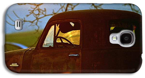 Farm Truck Galaxy S4 Cases - Retirement for an Old Truck Galaxy S4 Case by Jean Noren