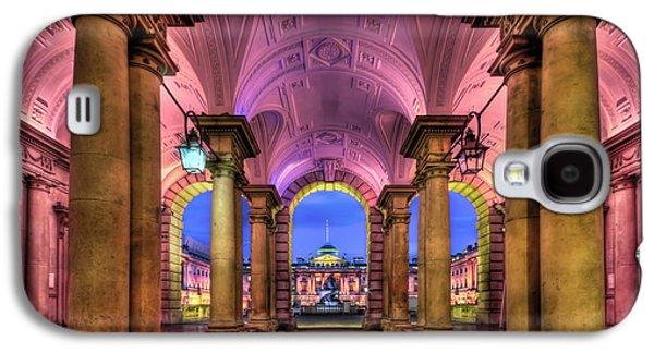 Somerset Galaxy S4 Cases - Rhapsody in Pink Galaxy S4 Case by Evelina Kremsdorf