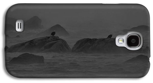 Foggy Ocean Galaxy S4 Cases - Riders on the Storm Galaxy S4 Case by William Jobes
