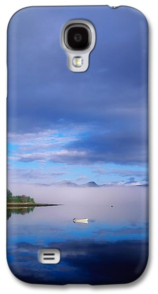 Boats In Reflecting Water Galaxy S4 Cases - Ring Of Kerry, Dinish Island Kenmare Bay Galaxy S4 Case by The Irish Image Collection
