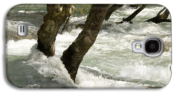 River Flooding Galaxy S4 Cases - River Manavgat In Flood Galaxy S4 Case by Bob Gibbons