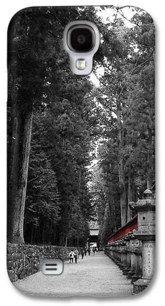 Pathway Galaxy S4 Cases - Road to the Temple Galaxy S4 Case by Naxart Studio
