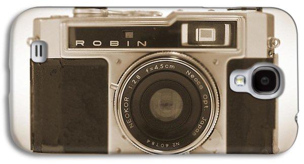 35mm Galaxy S4 Cases - Robin 35mm Rangefinder Camera Galaxy S4 Case by Mike McGlothlen