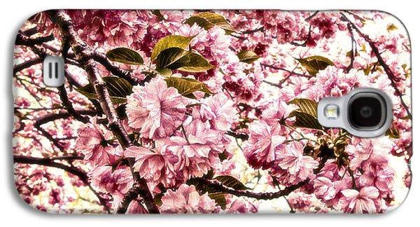 Romantic Cherry Blossoms Galaxy S4 Case by Georgiana Romanovna