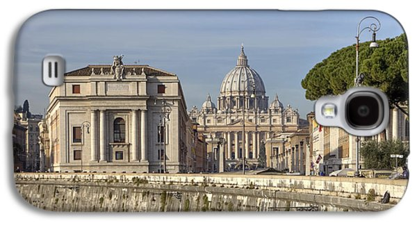 Rome Galaxy S4 Cases - Rome - St. Peters Basilica Galaxy S4 Case by Joana Kruse
