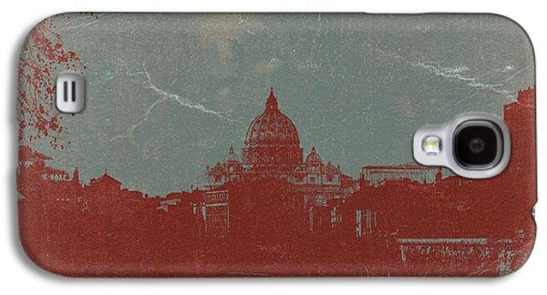 European City Digital Art Galaxy S4 Cases - Rome Galaxy S4 Case by Naxart Studio
