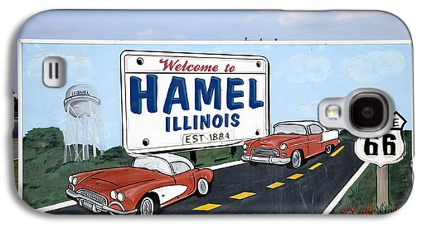 Hamels Galaxy S4 Cases - Route 66 Sign, 2009 Galaxy S4 Case by Granger