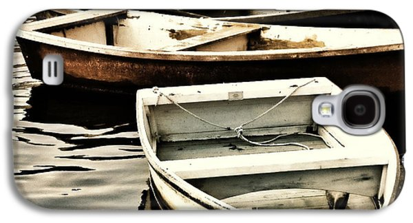 Rowboat Digital Art Galaxy S4 Cases - Rowboats in Maine Galaxy S4 Case by Tony Grider