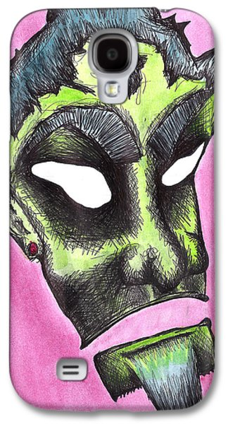 Creepy Drawings Galaxy S4 Cases - Rukus Galaxy S4 Case by Jera Sky