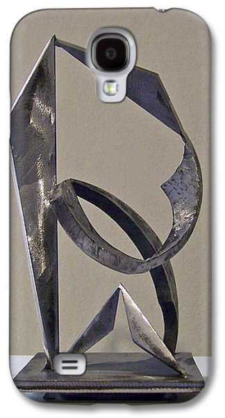 Abstract Movement Sculptures Galaxy S4 Cases - Rumba Galaxy S4 Case by John Neumann