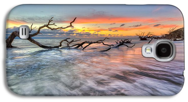 Tidal Photographs Galaxy S4 Cases - Rush Galaxy S4 Case by Debra and Dave Vanderlaan
