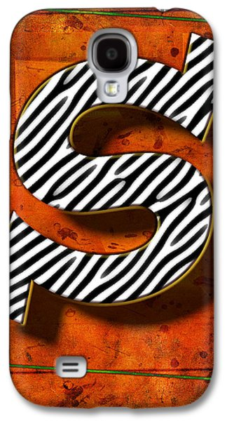Music Pyrography Galaxy S4 Cases - S Galaxy S4 Case by Mauro Celotti