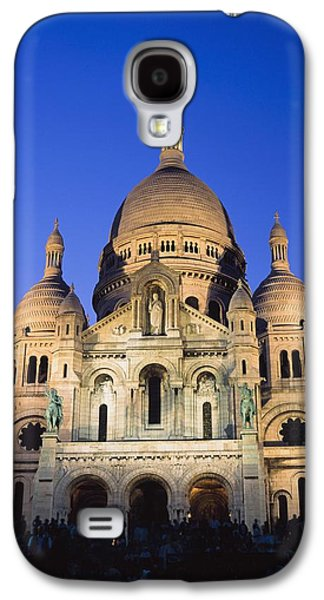 Religious Galaxy S4 Cases - Sacre Coeur At Dusk Galaxy S4 Case by Axiom Photographic