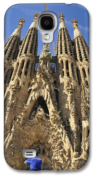 Spanien Galaxy S4 Cases - Sagrada Familia Barcelona Spain Galaxy S4 Case by Matthias Hauser