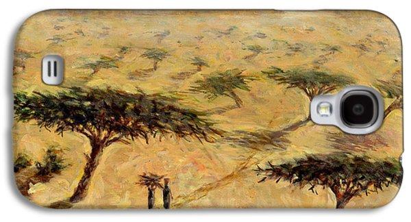 Sahelian Landscape Galaxy S4 Case by Tilly Willis
