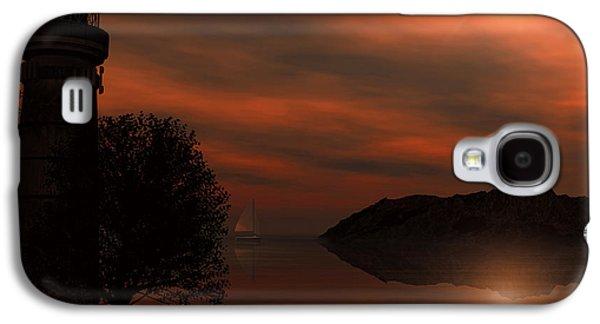 Sail At Dusk Galaxy S4 Case by Lourry Legarde