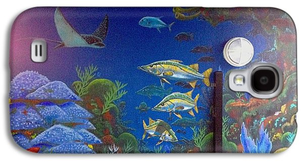 Fort Pierce Galaxy S4 Cases - Sailfish Splash Park 9 Galaxy S4 Case by Carey Chen