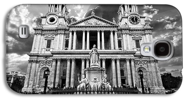 Religious Galaxy S4 Cases - Saint Pauls Cathedral Galaxy S4 Case by Meirion Matthias