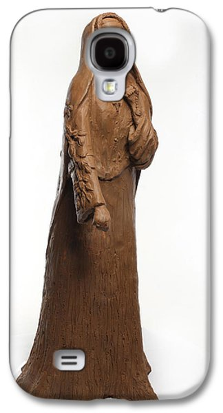 Native Sculptures Galaxy S4 Cases - Saint Rose Philippine Duchesne Galaxy S4 Case by Adam Long