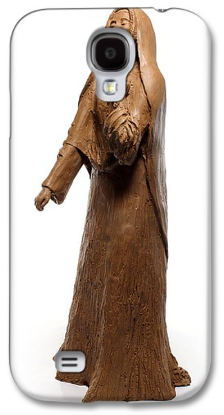 Native Sculptures Galaxy S4 Cases - Saint Rose Philippine Duchesne sculpture Galaxy S4 Case by Adam Long