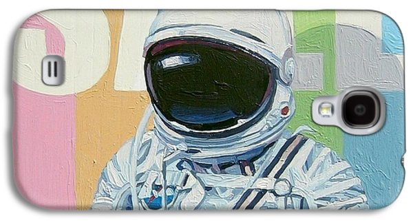 Science Fiction Paintings Galaxy S4 Cases - Sale Galaxy S4 Case by Scott Listfield